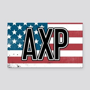 Alpha Chi Rho Flag Rectangle Car Magnet