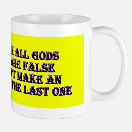Theist vs Atheist Mug