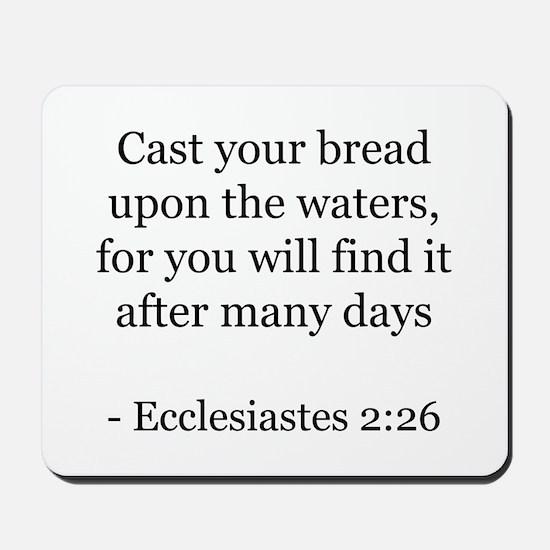 Ecclesiastes 2:26 Mousepad