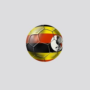 Uganda Football Mini Button