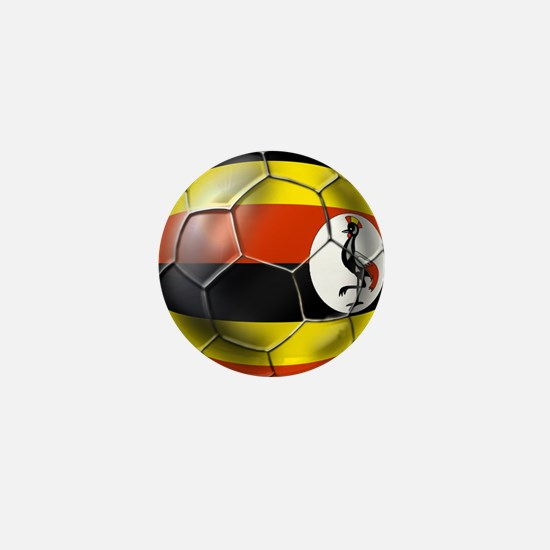 Uganda Football Mini Button