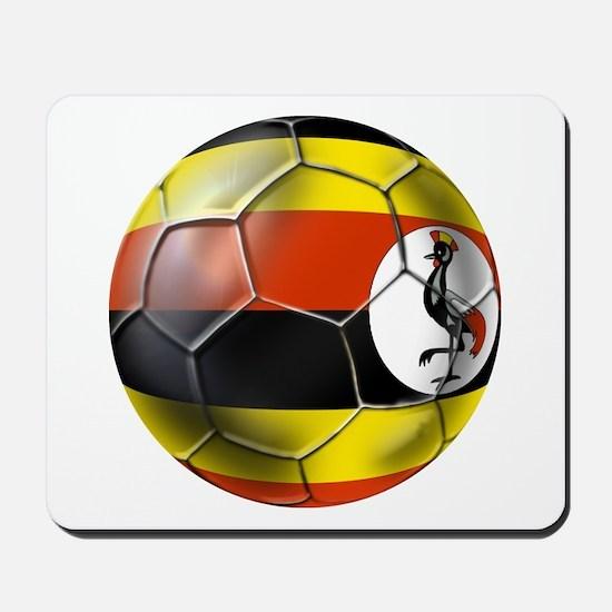 Uganda Football Mousepad