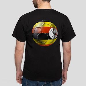 Uganda Football T-Shirts Dark T-Shirt