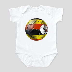 Uganda Football T-Shirts Infant Bodysuit
