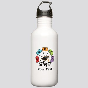 Customize Guard Grad Flags Stainless Water Bottle