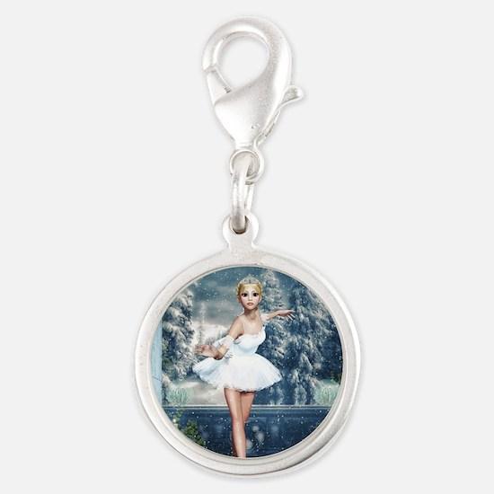 Snow Princess Nutcracker Ballerina Charms