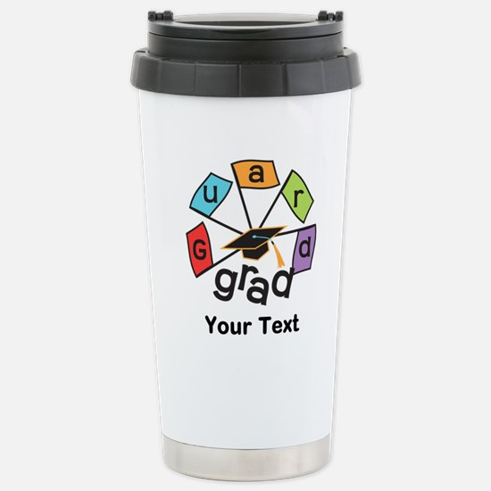 Customize Guard Grad Stainless Steel Travel Mug
