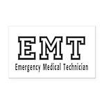 EMT Logo Rectangle Car Magnet