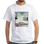 My first Cat White T-Shirt