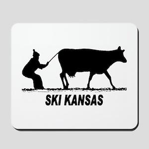 Ski Kansas Mousepad