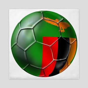 Zambia Football Queen Duvet