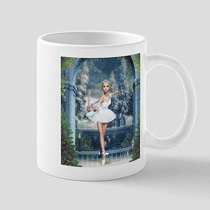 Snow Princess Nutcracker Ballerina Mugs