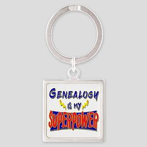 Genealogy is my Superpower! Keychains