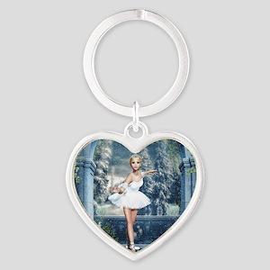 Snow Princess Nutcracker Ballerina Keychains