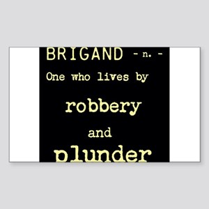 Brigand Sticker (Rectangle)