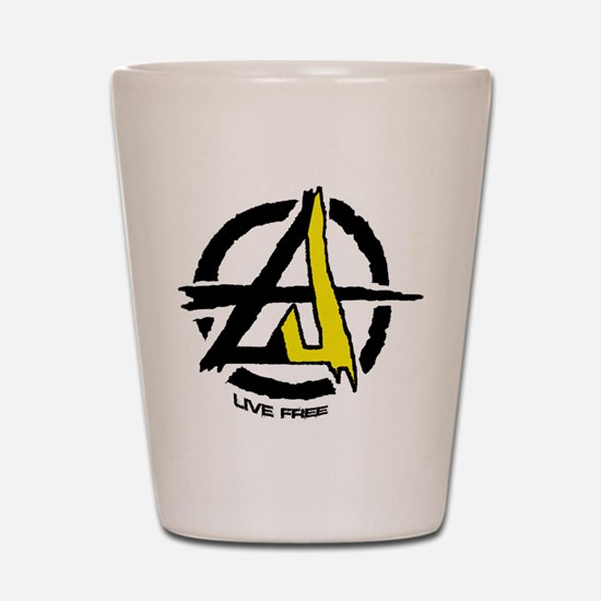 Anarchy / Voluntary Shot Glass