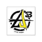 AGORIST Logo Square Sticker 3