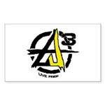 AGORIST Logo Sticker (Rectangle 50 pk)