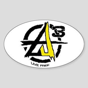 AGORIST Logo Sticker (Oval)