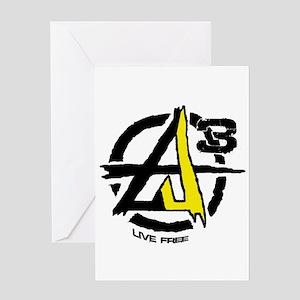 AGORIST Logo Greeting Card