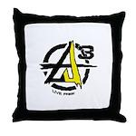 AGORIST Logo Throw Pillow