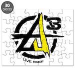 AGORIST Logo Puzzle