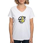 AGORIST Logo Women's V-Neck T-Shirt