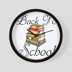 Back To School Wall Clock