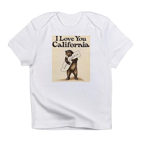 I Love You California Infant T-Shirt