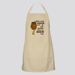 Funny Beer Brewer Apron