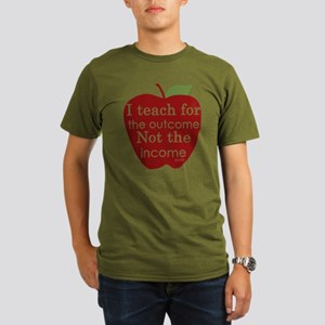 Why I Teach Organic Men's T-Shirt (dark)