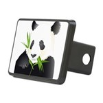 Panda Bear Rectangular Hitch Cover