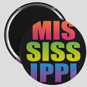 Mississippi Black Rainbow Magnets
