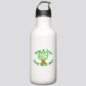 Save a Tree Stainless Water Bottle 1.0L