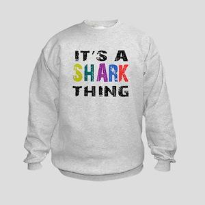 Shark THING Kids Sweatshirt