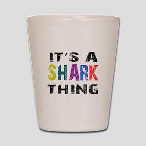 Shark THING Shot Glass