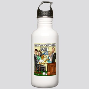 ObamaNCAA5 Stainless Water Bottle 1.0L