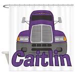 Trucker Caitlin Shower Curtain