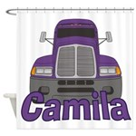 Trucker Camila Shower Curtain