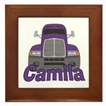 Trucker Camila Framed Tile