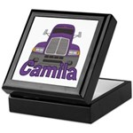 Trucker Camila Keepsake Box
