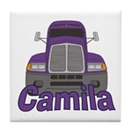 Trucker Camila Tile Coaster