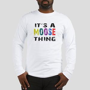 Moose THING Long Sleeve T-Shirt