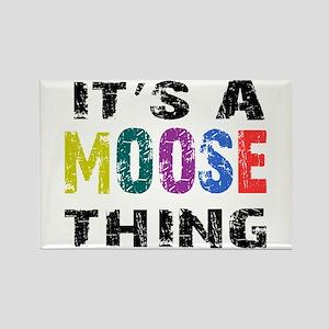 Moose THING Rectangle Magnet
