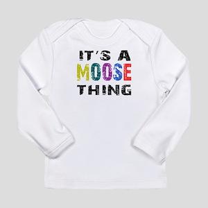 Moose THING Long Sleeve Infant T-Shirt