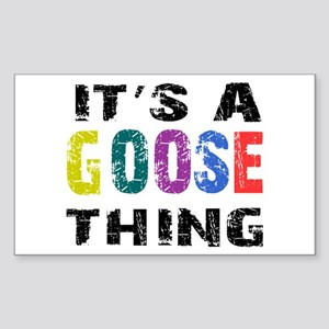 Goose THING Sticker (Rectangle)