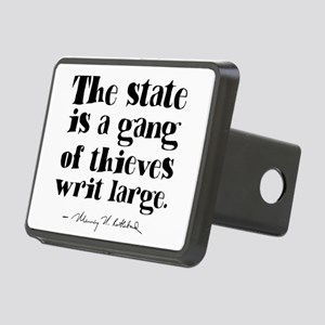 The State Is A Gang Rectangular Hitch Cover