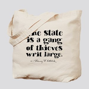 The State Is A Gang Tote Bag