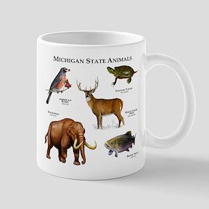 Michigan State Animals Mug