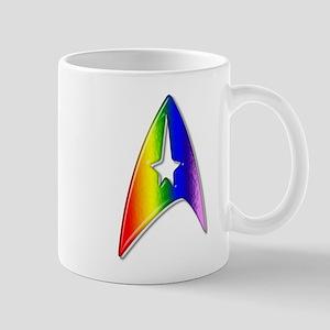 Rainbow Trek Badge Art Mug